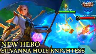 New Hero Silvanna Gameplay - Mobile Legends Bang Bang
