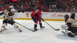 Oshie undresses Bruins D for second goal of the night