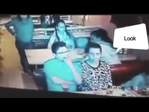 Watch Woman Stealing bag at Spur in Cape Town -