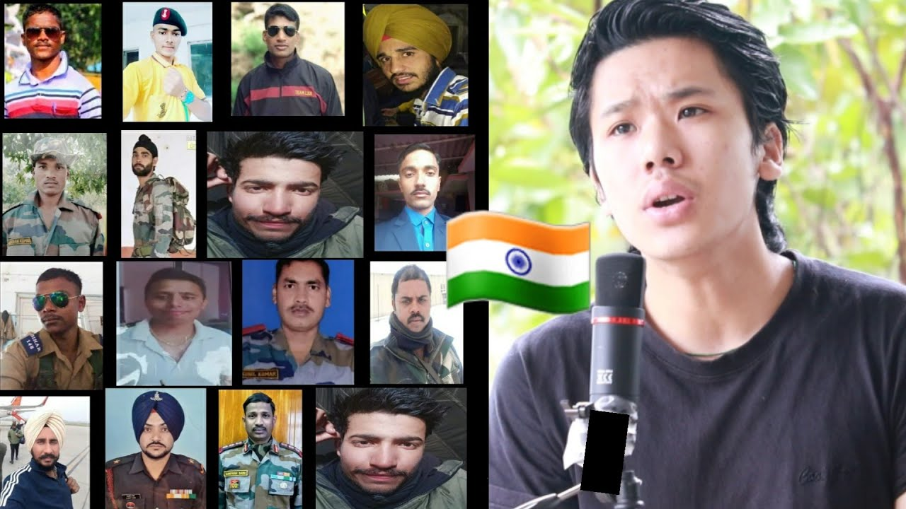 Sandese Aate Hai 🇮🇳| Tribute Song to Martyred Indian Army | Lenzing Doming | Indo China Border War