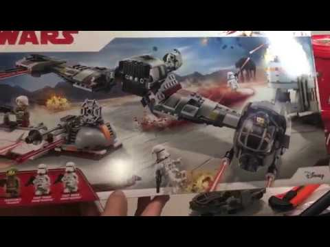 Lego Review of set 75202 2018 Star Wars Defence of Crait
