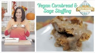 "Vegan Cornbread ""sausage"" And Herb Thanksgiving Stuffing Recipe"