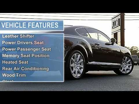 2005 Bentley Continental Atlanta Luxury Motors Duluth