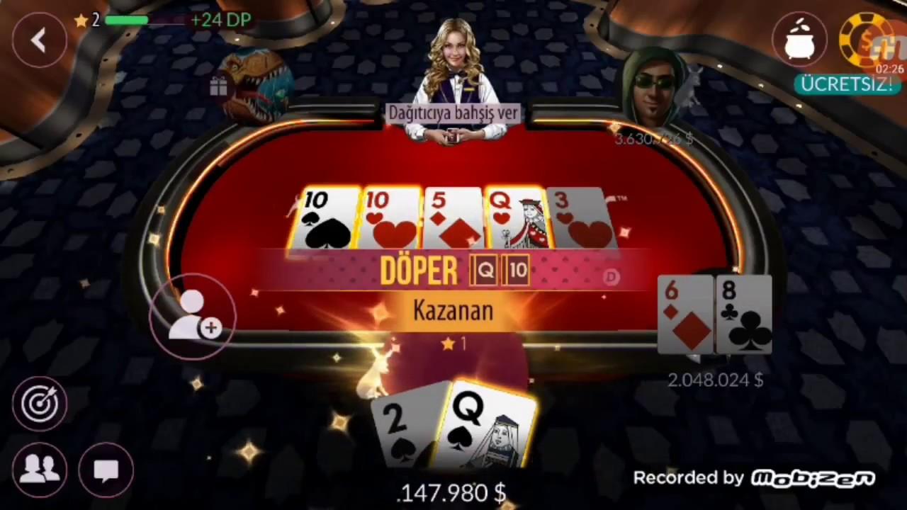 Zynga Poker 10.000.000 $ günlük hilesi (GÜNCEL) , Oyun hileleri
