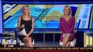 Ainsley Earhardt & Heather Childers 09-12-14