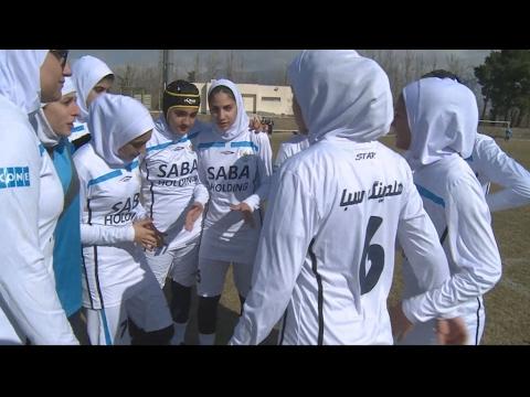 Iranian women push boundaries through sport