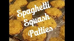 Spaghetti Squash Patties