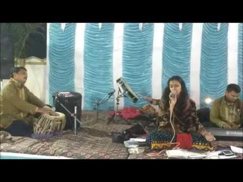 very beautiful vidai geet - babul jo tumne sikhaya -live by neha solanki