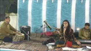very beautiful vidai geet - babul jo tumne sikhaya -live by neha solanki