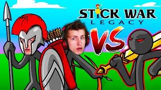 The BEST Defense Stickman Game EVER! (Stick War: Legacy)
