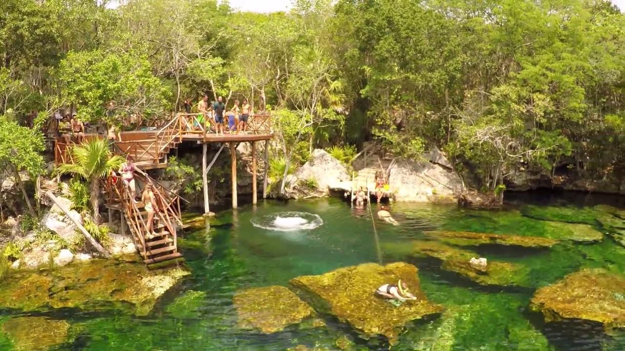Jardin del eden cenote garden of eden youtube for Jardin of eden
