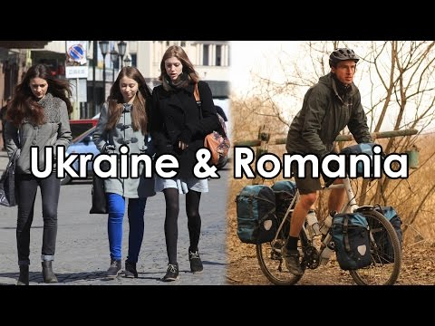 My Ukraine & Romania Bike Tour - All 14 Episodes