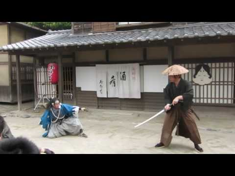 Shinsengumi Fight Live Battle in Kyoto HD