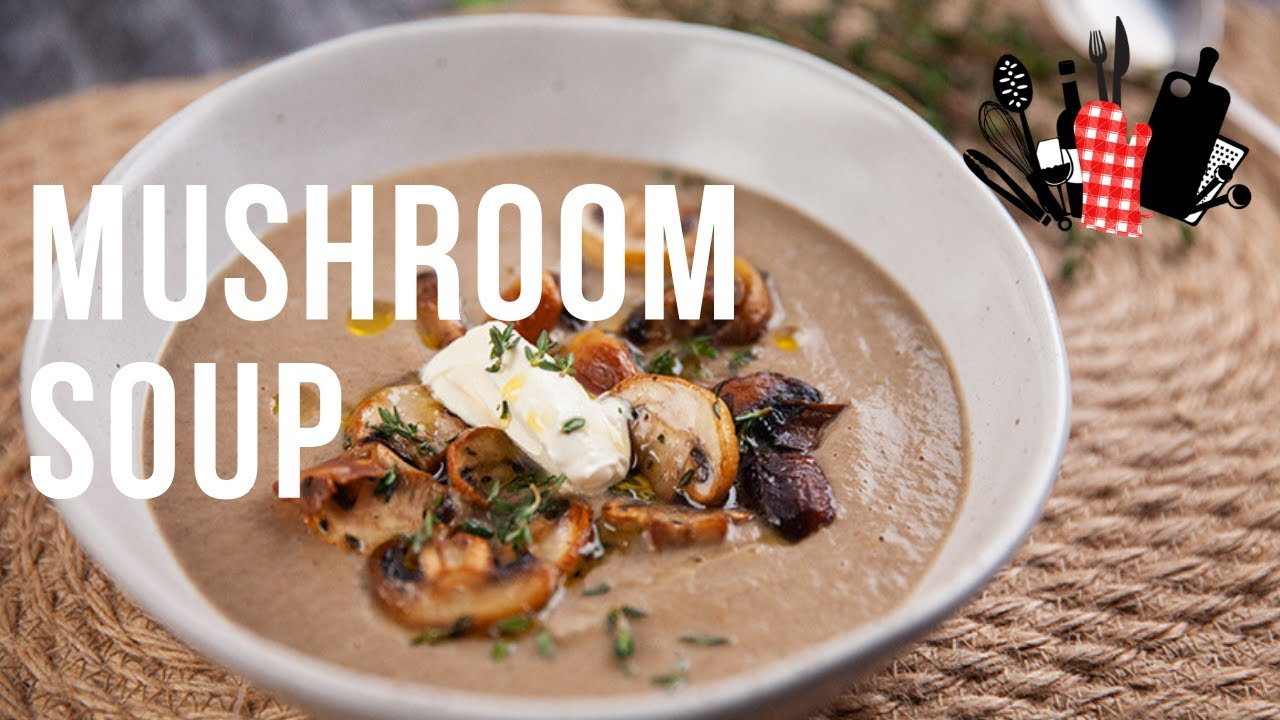 Mushroom Soup Everyday Gourmet S9 Ep09 Youtube