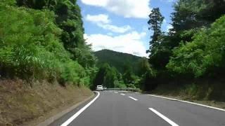 国道210号から四季彩ロード経由やまなみハイウェイ25分を5分で2011080313vs14p