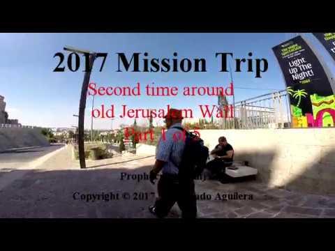 2017 Second walk round Jerusalem wall part 1 of 5