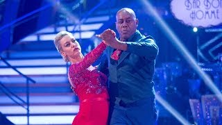 Ainsley Harriott & Natalie Lowe Tango to 'Voulez Vous'- Strictly Come Dancing: 2015