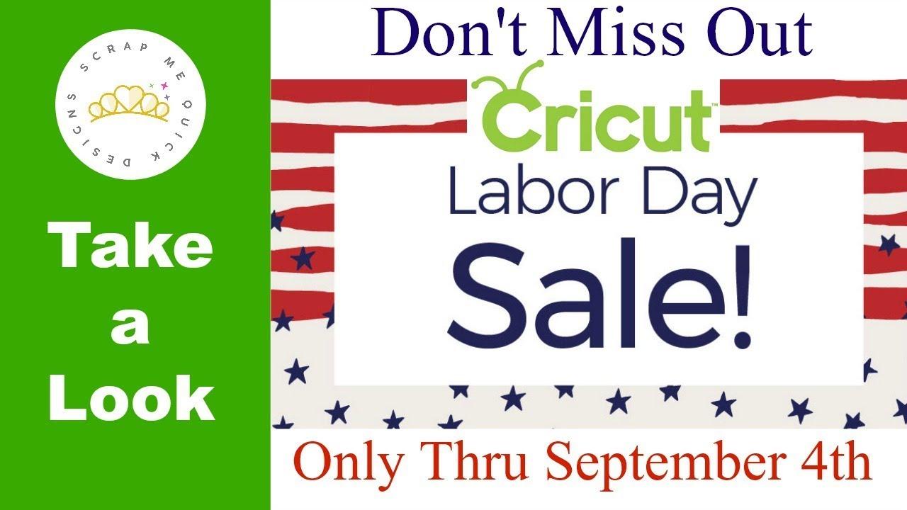 Cricut Labor Day Sale 2018