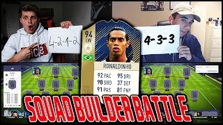 94 PRIME ICON RONALDINHO Squad Builder Battle vs. CENK! ⛔️🔥 Fifa 18 Ultimate Team Deutsch
