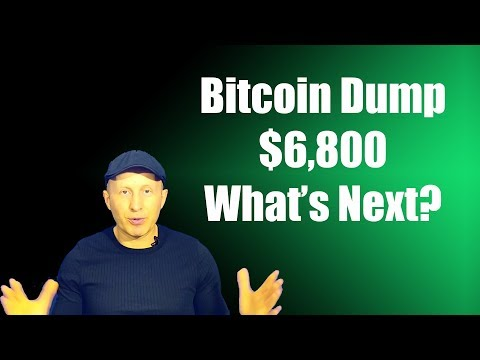 Bitcoin And Crypto Dump - $6,800? | Trading Analytic On Trend | What's Next?!