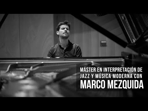 Master in Jazz and Modern Music Performance with Marco Mezquida - Liceu Conservatory