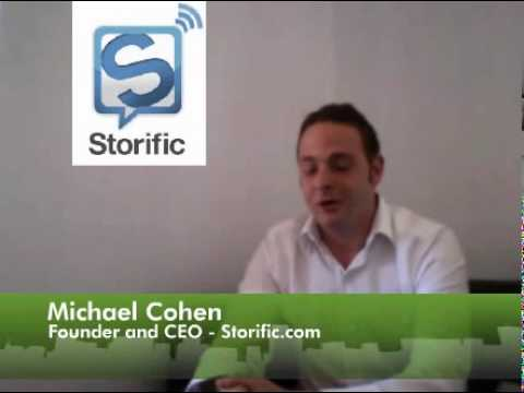 Interview de Michael Cohen, fondateur de Storific