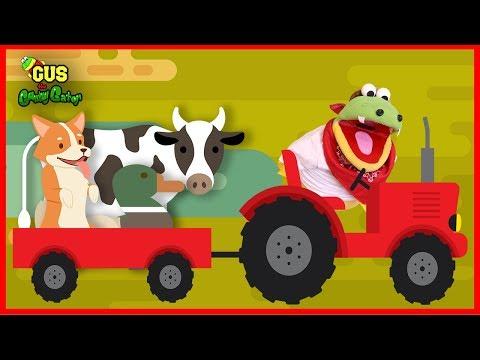 Old MacDonald Had a Farm Nursery Rhyme Children Songs Learn Animal Sounds
