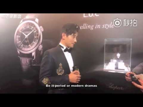 [English Subs] Chopard Exhibition - Interview with Luo Jin 萧邦L.U.C表展 罗晋专访