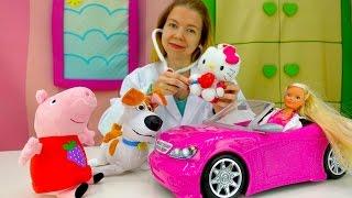 Qizlar uchun Video Barbie va kitty bilan O'ynaydi