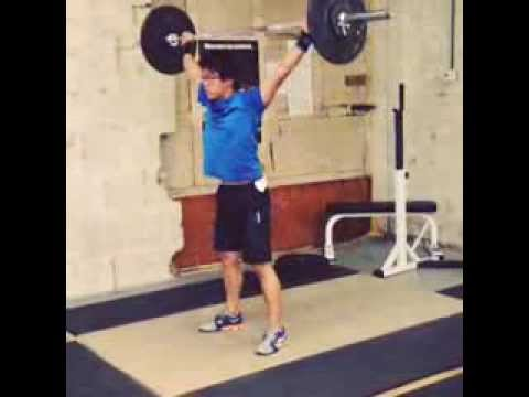 Olympic Weightlifting - Snatch Practice August 27, 2013