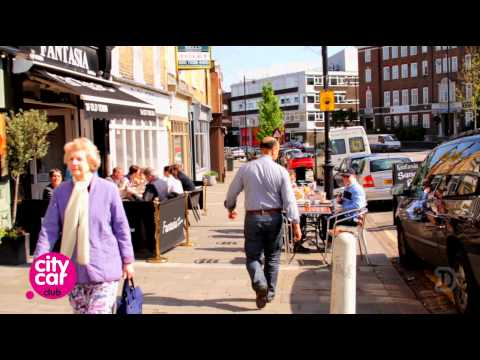 London in a City Car - Clapham (Travel)