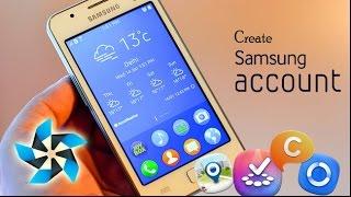 Ini caranya  membuat akun Samsung di OS Tizen