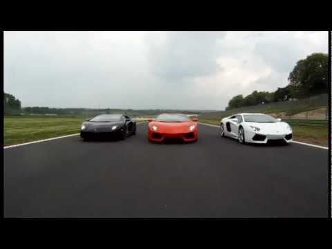 Lamborghini Aventador Lp 700 4 White Vs Black Vs Red Youtube