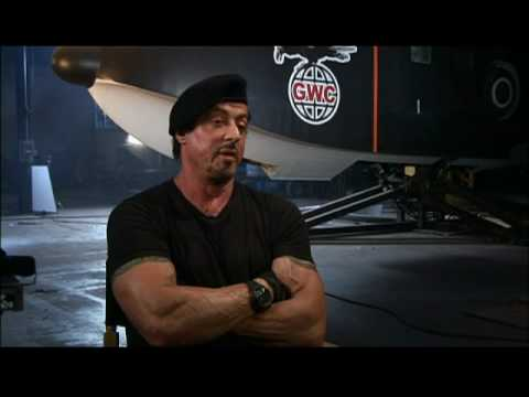 Interview Part 1 with Sylvester Stallone for The ...