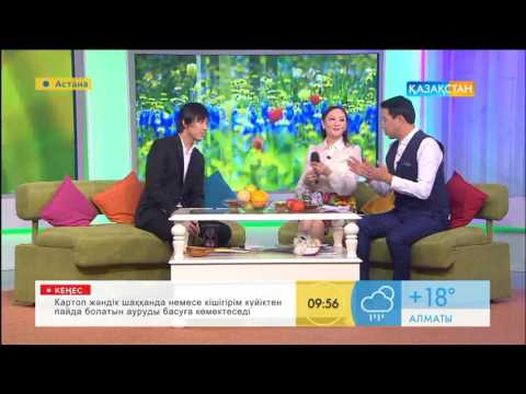 "Dimash Kudaibergen in tv program, sing ""Kazakhstan"" 2 /迪玛希 /Димаш Кудайберген -песня ""Казахстан"""