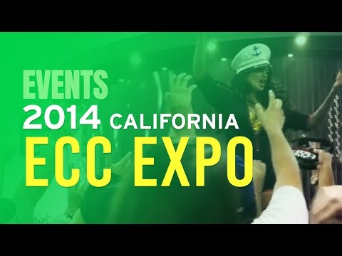 A SEXY VIEW OF THE ECC EXPO - VAPE CLUB