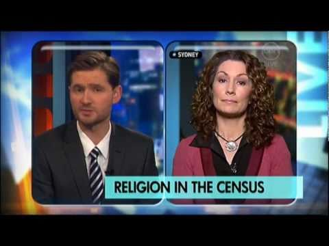 Kitty Flanagan on religion in the 2011 Census - The 7pm Project