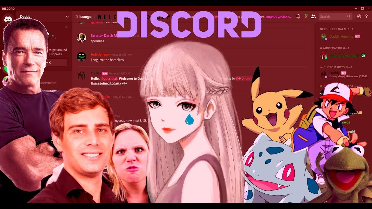 ANIME GIRL GETS BULLIED IN HUGE DISCORD SERVER | Discord Voice Trolling