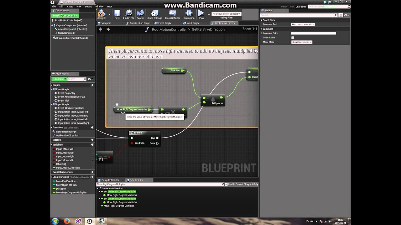Tutorial ue4 root motion controller 01 new project basic tutorial ue4 root motion controller 01 new project basic movement malvernweather Images