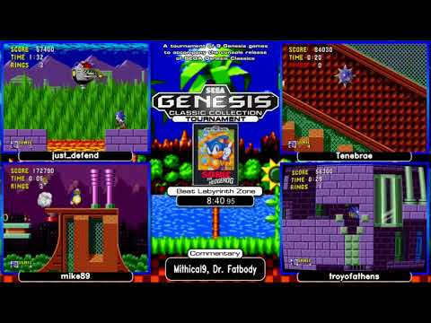 SEGA Genesis Classics Release Weekend Tournament 2018 Day 1