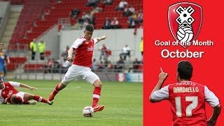 Rotherham United - October Goal of the Month