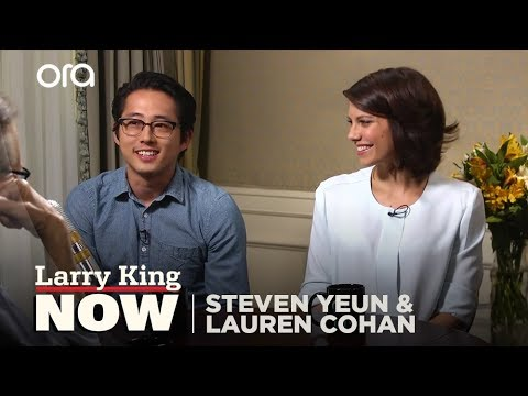 "The Walking Dead: Steven Yeun & Lauren Cohan ""Larry King Now"" - Full Episode in the U.S. on Ora.TV"