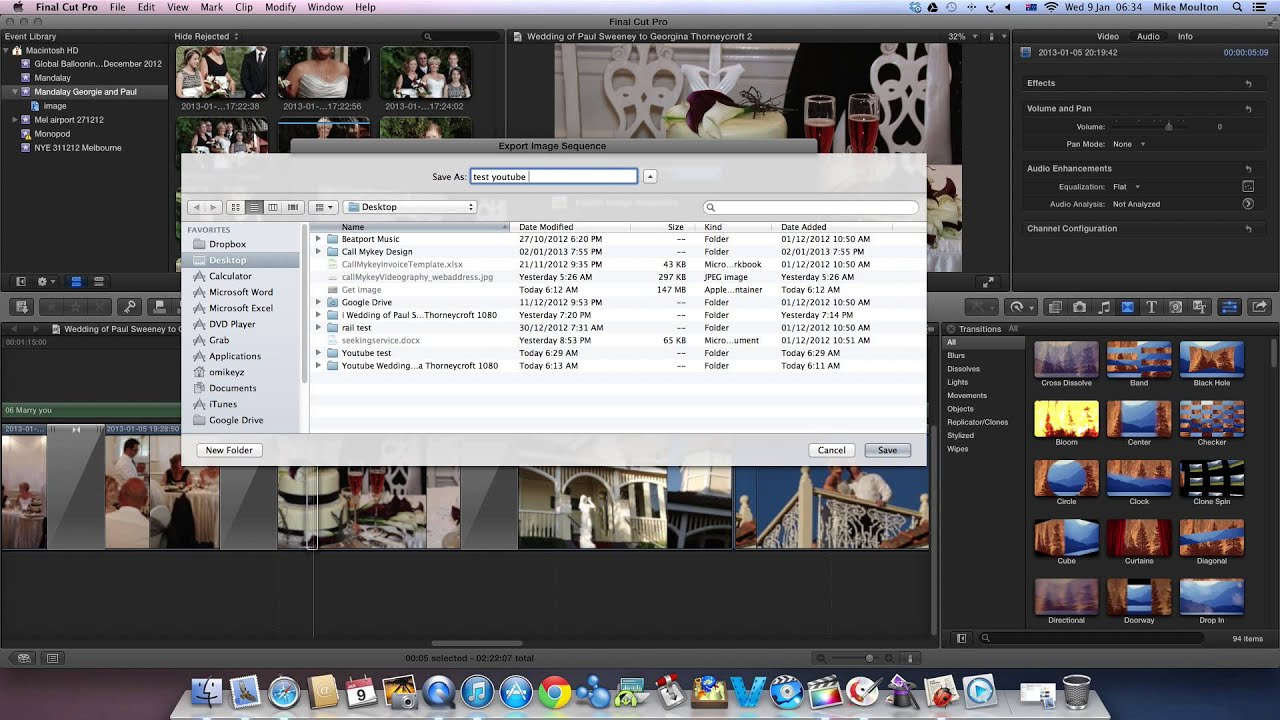 FCPX How to export save image freeze frame as jpeg Final Cut Pro X ...