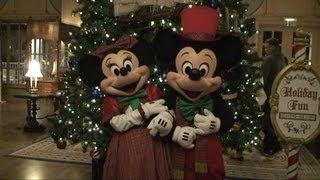 Mickey and Minnie Christmas Meet & Greet at Disney's Yacht Club Resort, Walt Disney World