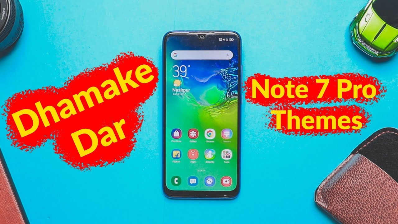 5 Best Themes of Redmi Note 7 Pro - MIUI Themes!