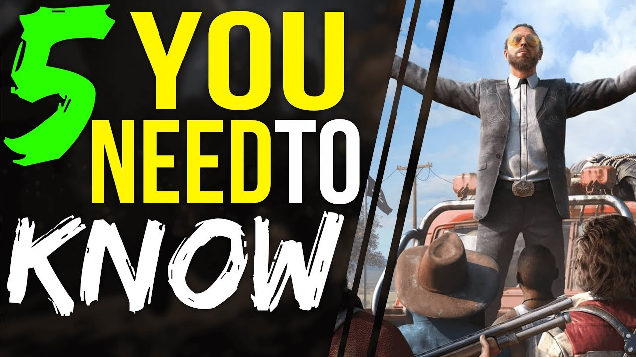 Far Cry 5 5 Things You Need To Know Character Customization Gameplay And More