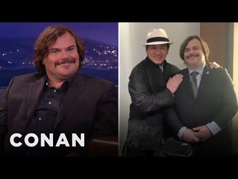 Jack Black's New Buddy Movie With Jackie Chan  - CONAN on TBS