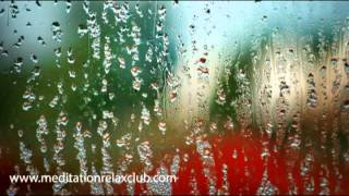 Relaxing rain sound and peaceful music: white noise & soft piano songs