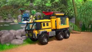 Jungle Mobile Lab - LEGO City - 60160  - Product Animation