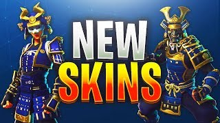 "NOUVEAU ""MUSHA"" - ""HIME"" SKINS IN FORTNITE! Mise à jour de la boutique d'articles 23 août (Fortnite Battle Royale)"